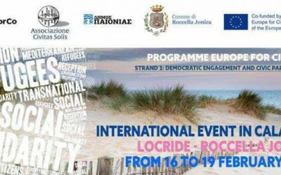 1st Transnational event in Calabria